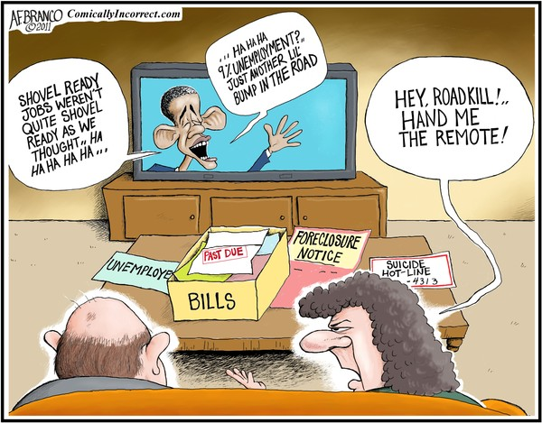 Laugh It up Obama (Cartoon)