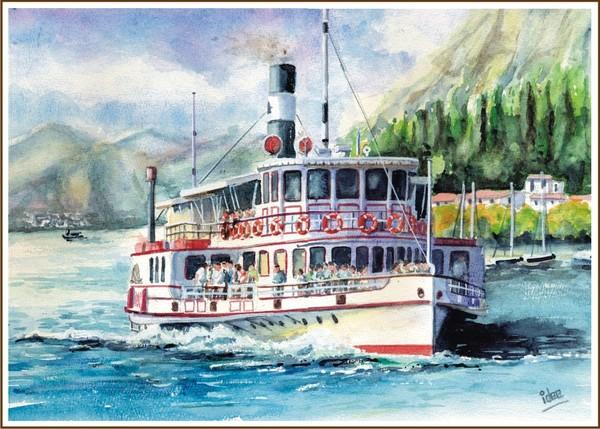 The Zanardelli on the Garda-lake
