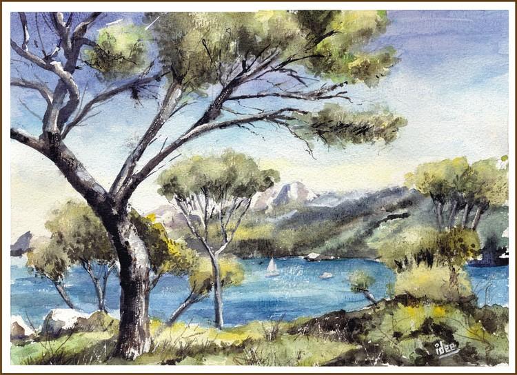 The coast of Mallorca
