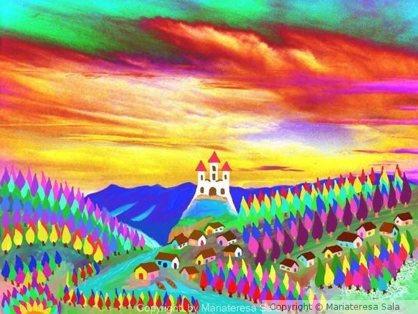 The Santa Maria mountains