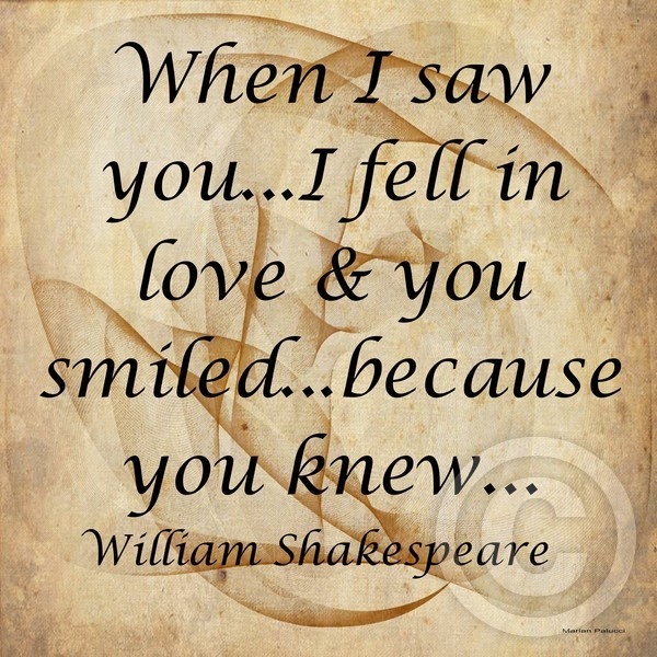 When I Saw You...