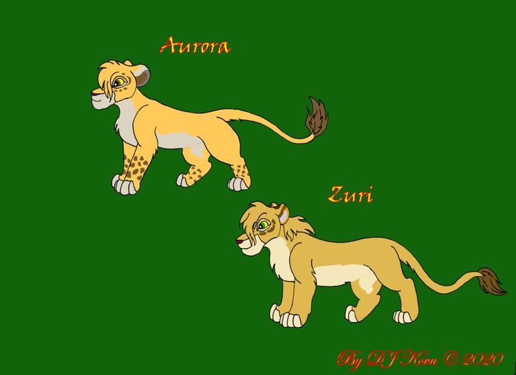 Aurora & Zuri
