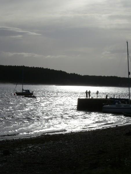 Evening Sun in Findhorn