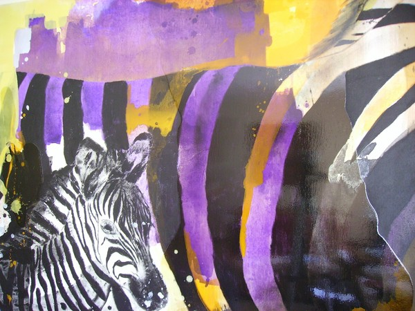 Zebras Colours - SOLD