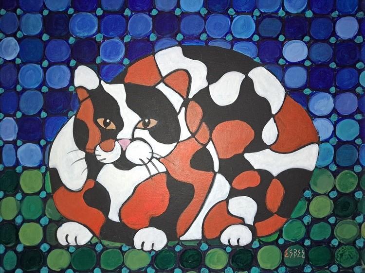 Puzzle Calico Cat