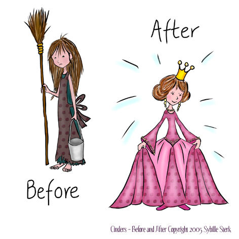 Cinders - Before and After