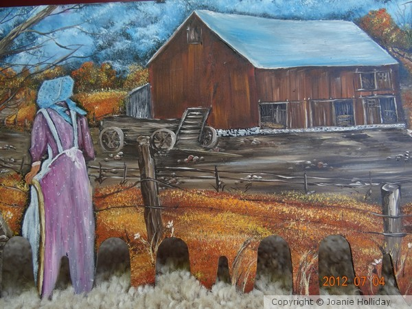 2 MAN CROSS CUT-AUNT AGGIES FARM-OIL