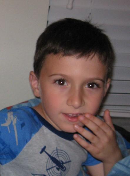 My Grandson Christian age 6