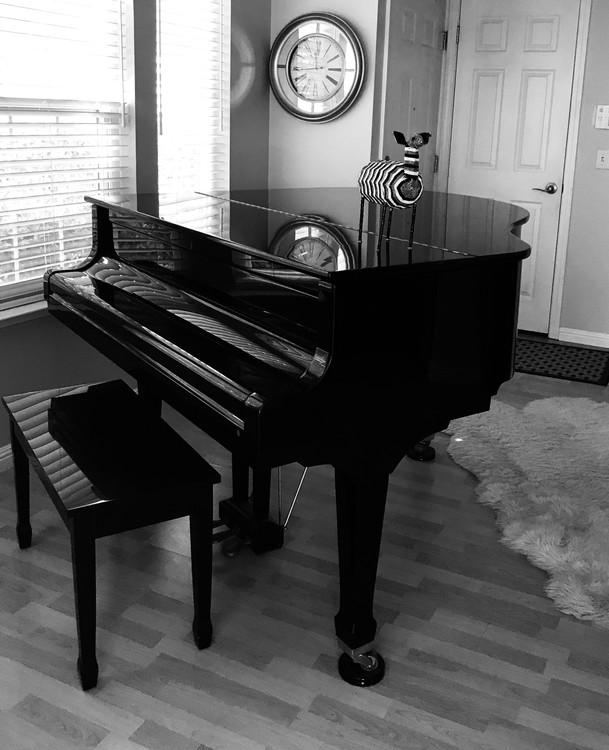 Three Clocks and a Piano
