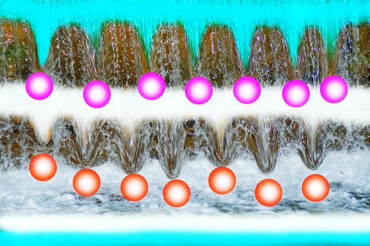 Joyful water spirits