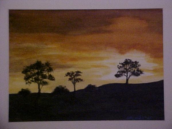 Serengeti Sunset (sold)