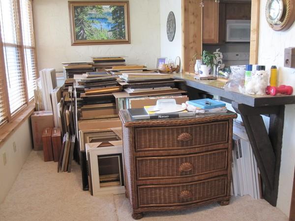 New Painting Storage Area