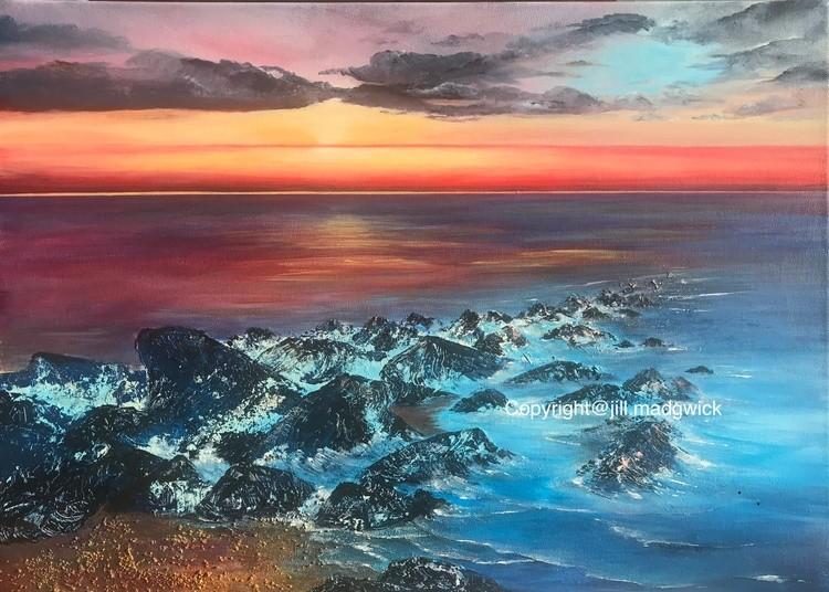 Felpham Beach Sunrise