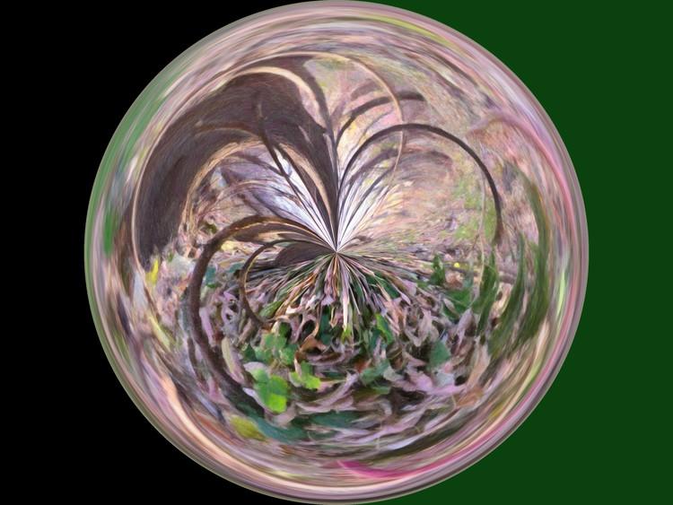 Morphed Art Globe 36
