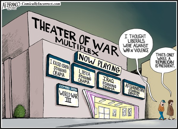 Theater of War Multiplex (Cartoon)