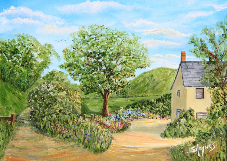 English country scene