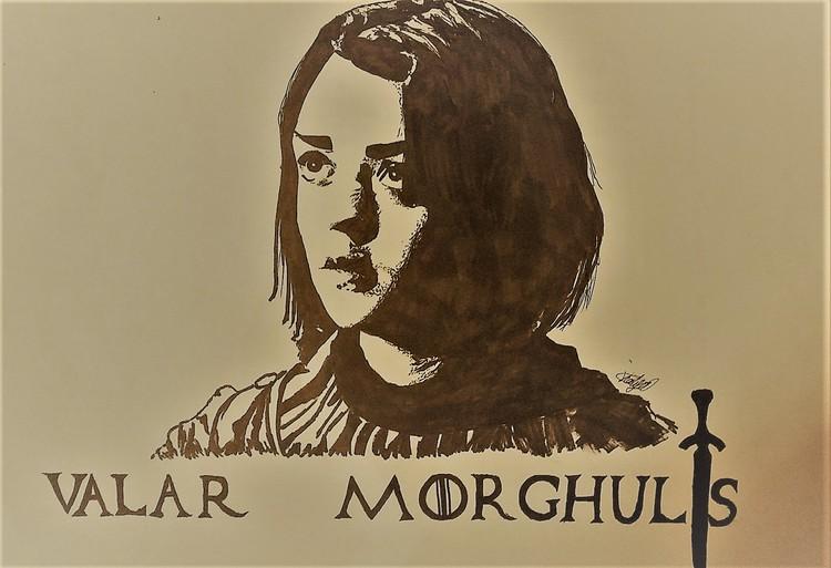 Arya Stark Pop-Art