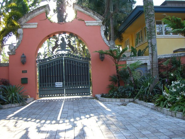 Madonna's Miami Home Front