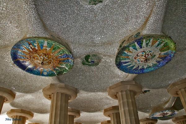 Guell's Pillars