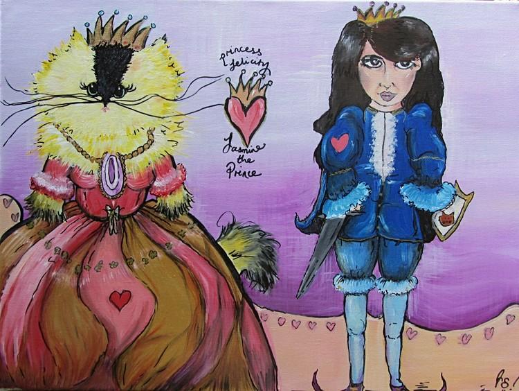Princess Felicity and Prince Jasmine