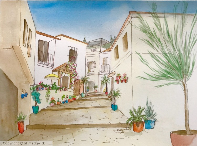 A corner of Estepona, Spain