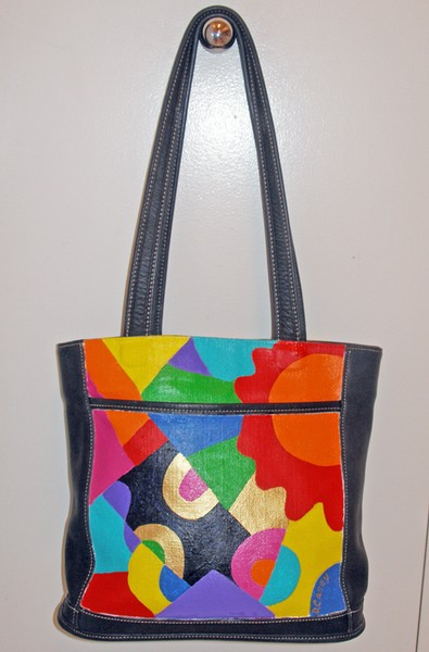 Brighter Days Ahead (Painted Coach Purse)