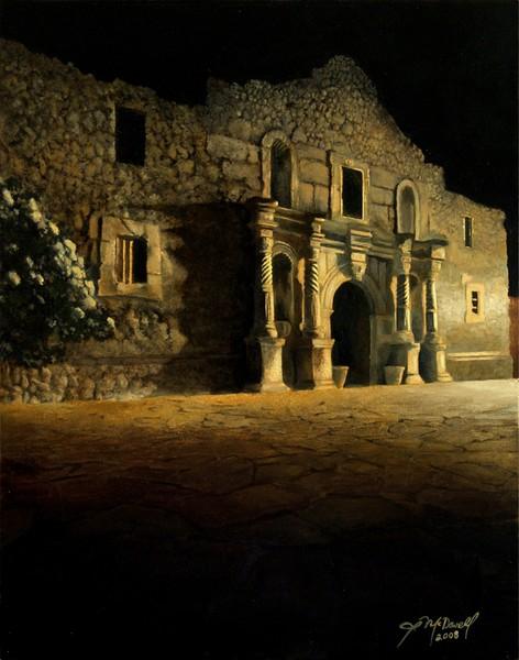 Nightfall at the Alamo