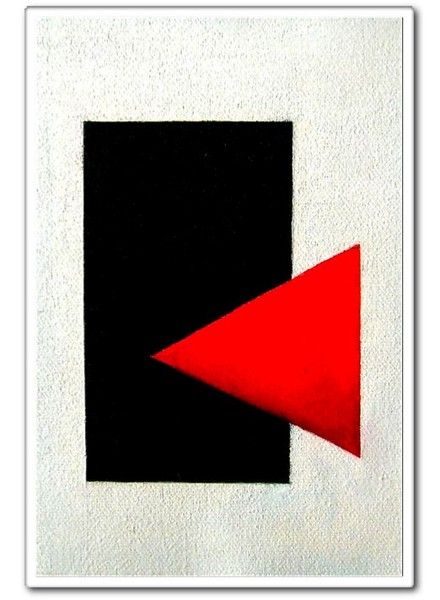 composition 2 (Suprematism Style, Triptych)