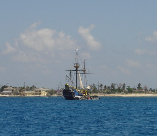 Pirate Ship at Grand Cayman