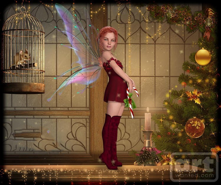 Little Fae on the Mantle