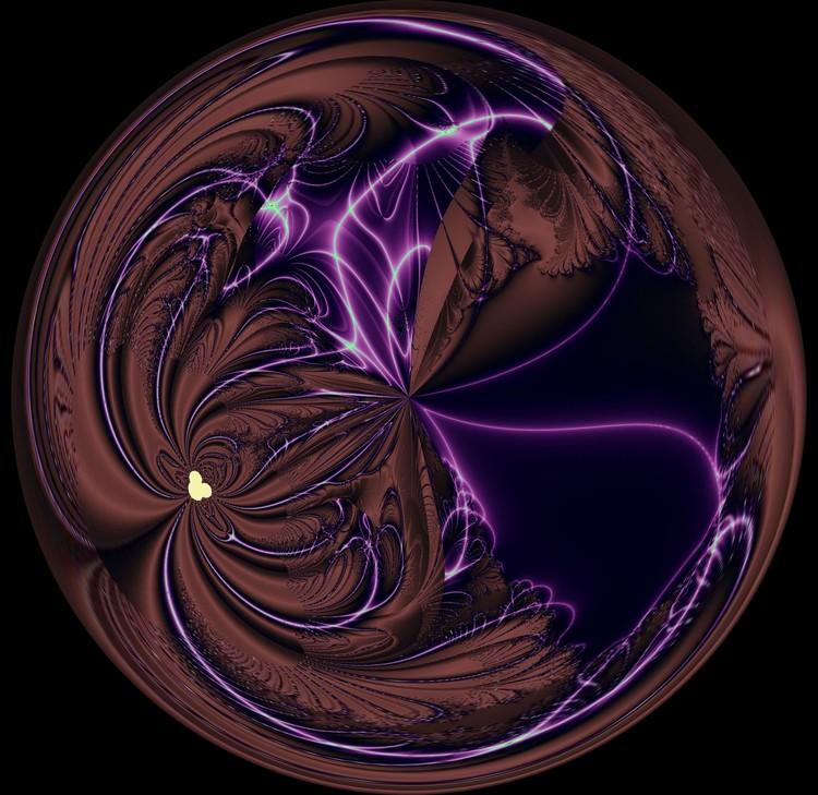 Morphed Art Globe 39