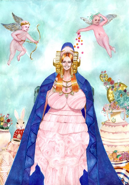 Tartessian Goddess