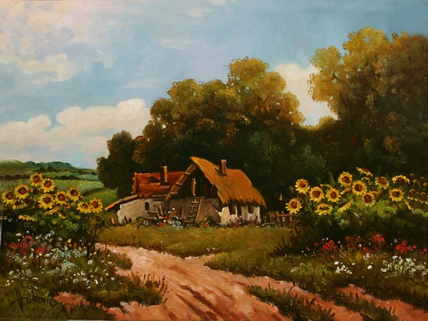 Stories from the old farm - sunflowers