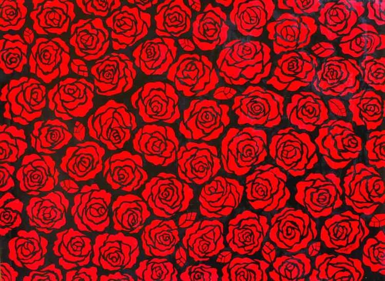 Roses acrylic original
