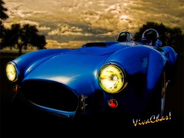 Shelby Cobra Before the Storm
