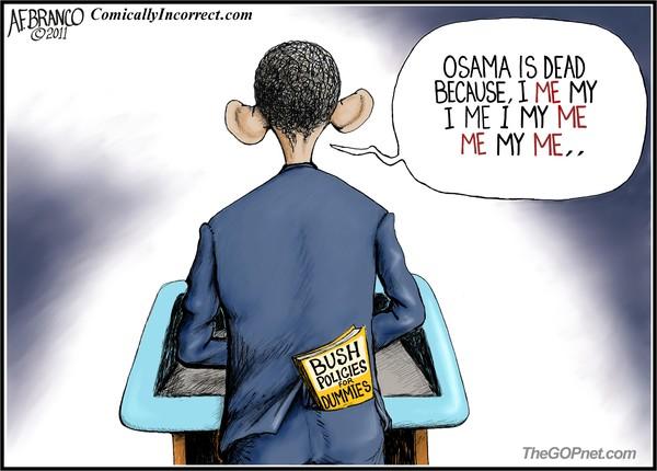 Obama Me Me Me (Cartoon)