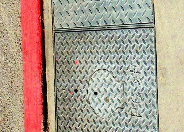 red stripe plate stripe