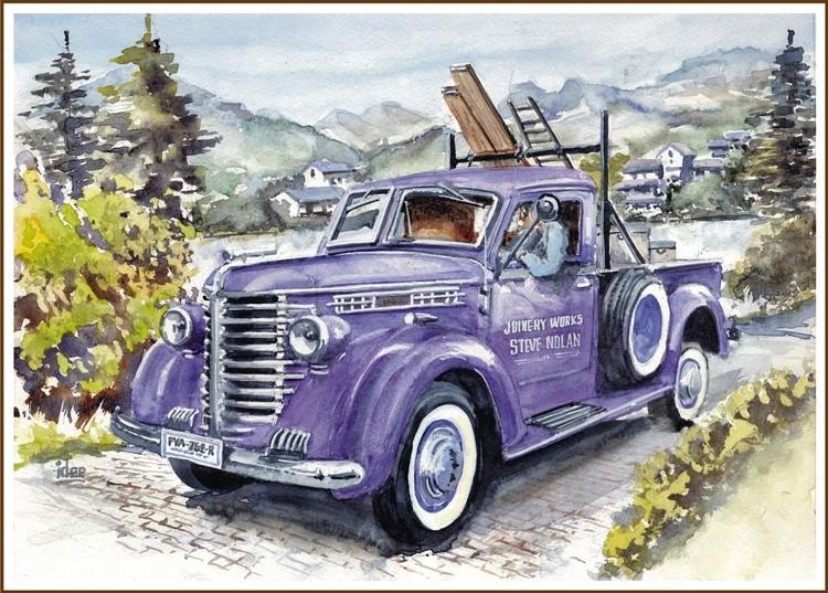 Diamond T 102 pick up - 1949