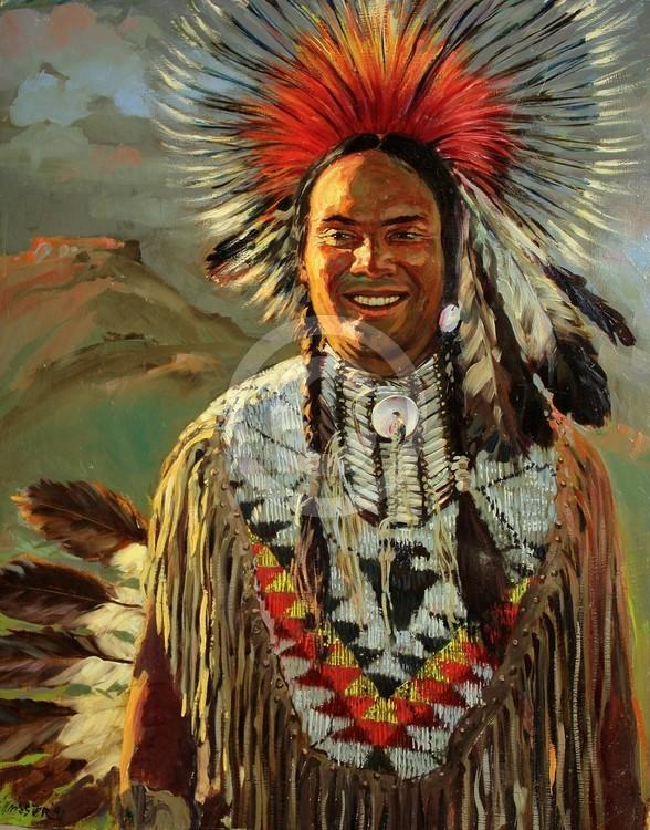Shoshoni chief.