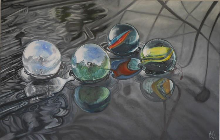 marbles on ice (Eismurmeln)