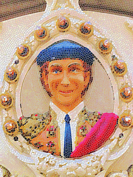 Artificial Mosaic Creator.