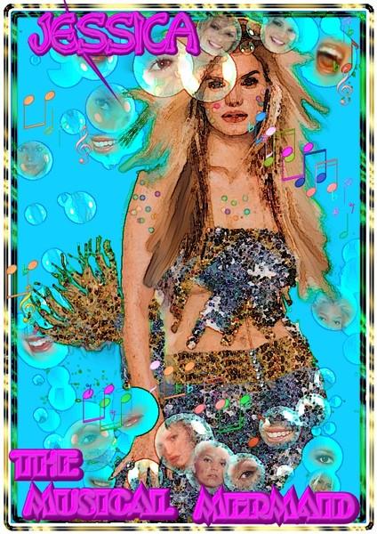 Jessica the musical mermaid