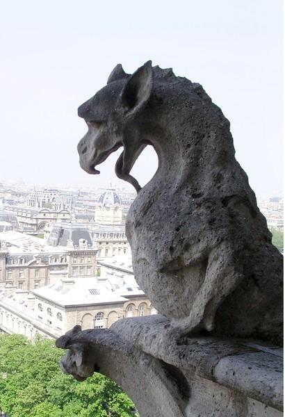 Notre Dame Gargoyle 5