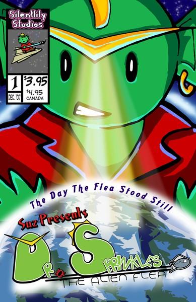 Dr. Sprinkles: The Alien Flea Cover