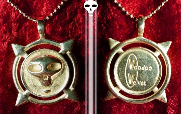 Voodoo Velvet - sterling silver pendant