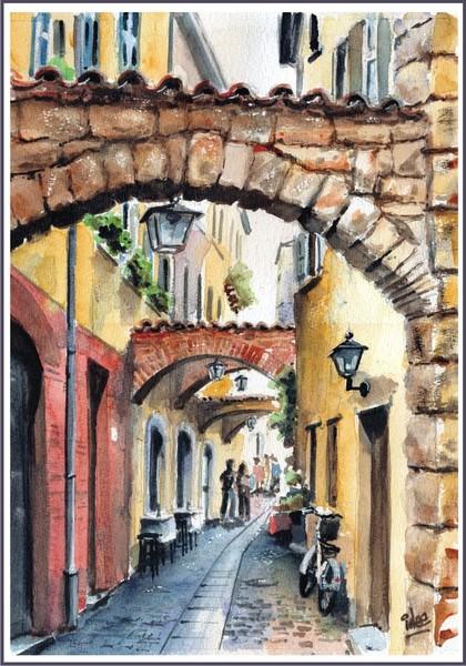 Passage in Garda