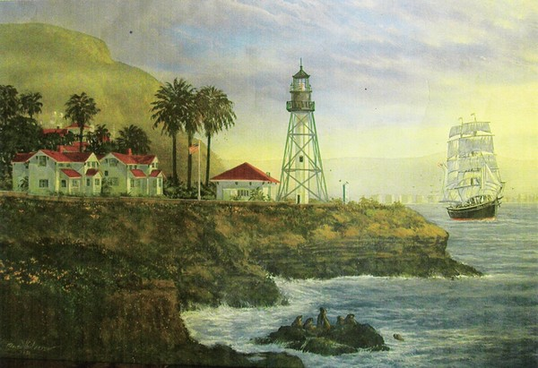 San Diego Coast Guard Station Lighthouse