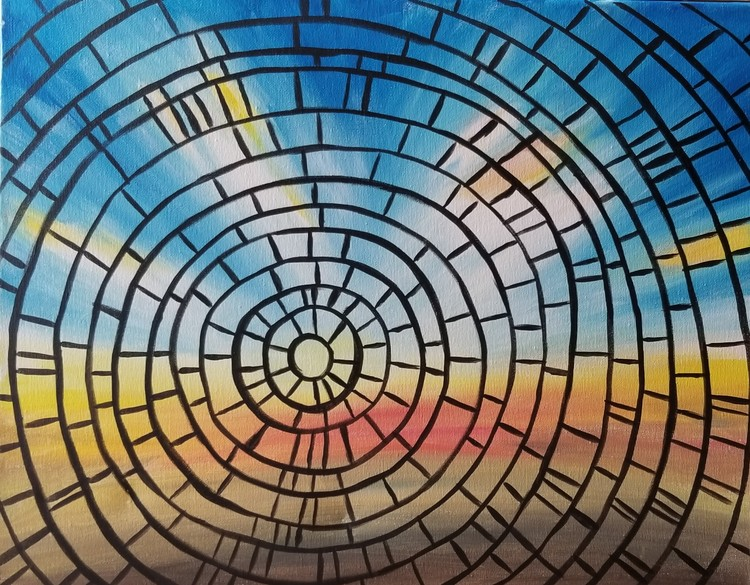 Mosaic Sunrise