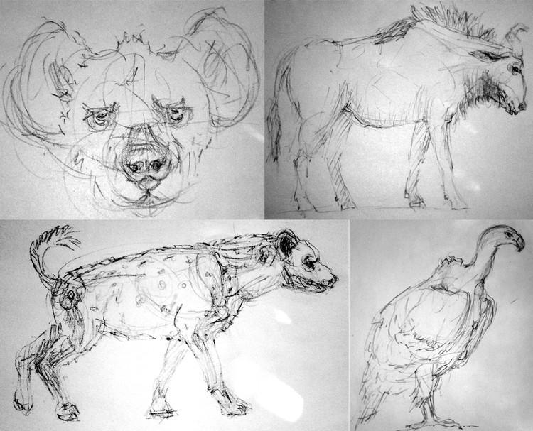 Serengeti Sketches