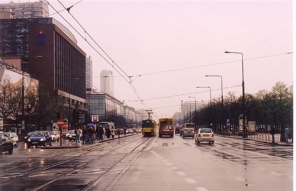 Rainy Day in Warsaw